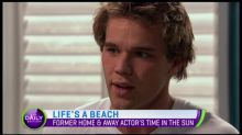Former Home & Away actor Lincoln Lewis goes back to the beach