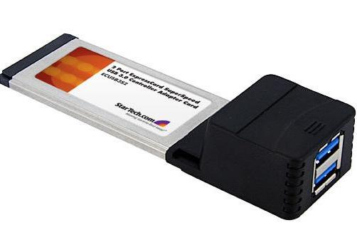 USB 3.0 ExpressCard adapter promises more than it can deliver