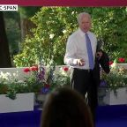 Biden clashes with CNN reporter at summit press conference