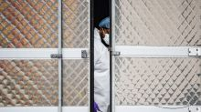 Hospitals overflowing with bodies in US epicenter of virus