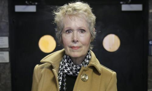Trump's denial of E Jean Carroll rape allegation was 'official response', justice department says