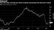 Otimismo sobre lucros em emergentes contrasta com economia fraca
