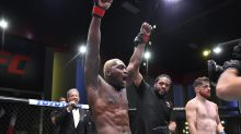 After seesaw career, Derek Brunson steals spotlight from highly touted Edmen Shahbbazyan