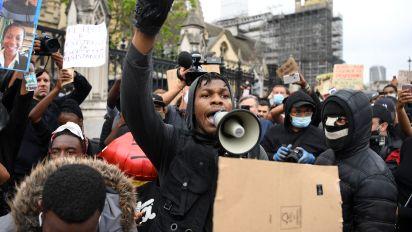 Hollywood backs John Boyega as 'hero' after Black Lives Matter speech