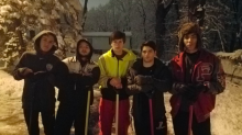 Teens shovel snow from neighbor's driveway at 4:30 a.m. so she can make it to dialysis treatment