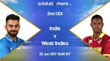 2nd ODI (Preview): India vs West Indies