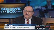 CNBC's very first guest!