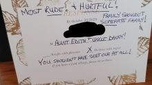 'Hurtful': Bride shares aunt's angry wedding RSVP