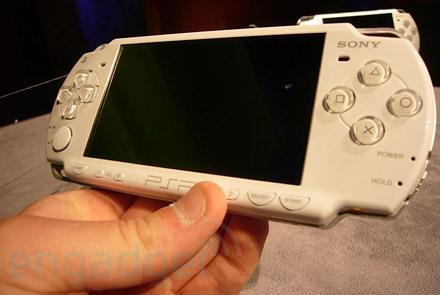 Slimmer PSP gets price, launch date for Japan