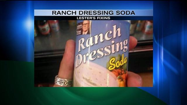 Would You Drink Ranch Dressing Soda?