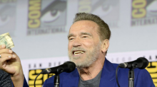 Governator gone wild: Schwarzenegger cracks jokes about sex, Trump at 'Terminator' Comic-Con panel