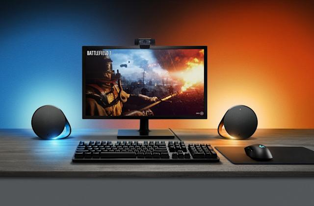 Logitech adds what gaming speakers were missing: synchronized lights