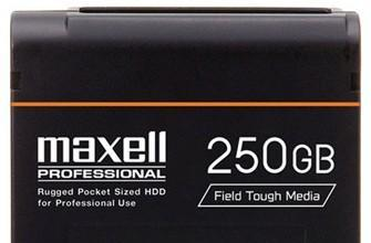 Maxell's iVDR external HDD handles hardcore field operations