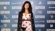 Sophie Charlotte surpreende com novo visual em pré-estreia