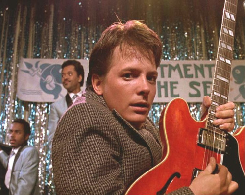 BACK TO THE FUTURE, Michael J. Fox, 1985