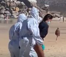 Video of Spanish surfer arrested for breaching coronavirus quarantine goes viral