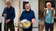 Na quarentena, Ary Fontoura limpa a casa, cozinha, se exercita e muito mais; Confira!