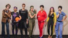 Friends all dress up as Ben Stiller characters in annual Halloween tradition