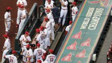 Cardinals return to St. Louis, get in workout ahead of games
