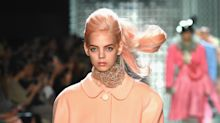 """Models Wear """"Anti-Unicorn Hair"""" at Marc Jacobs Spring 2019 Show"""