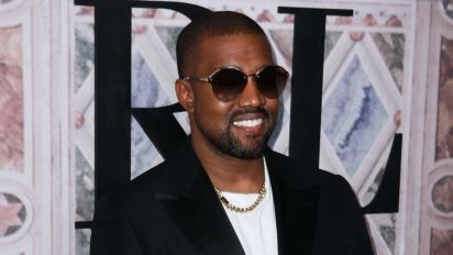 Kanye West's New Photo With Saint Proves He's the Happiest When He's With Family