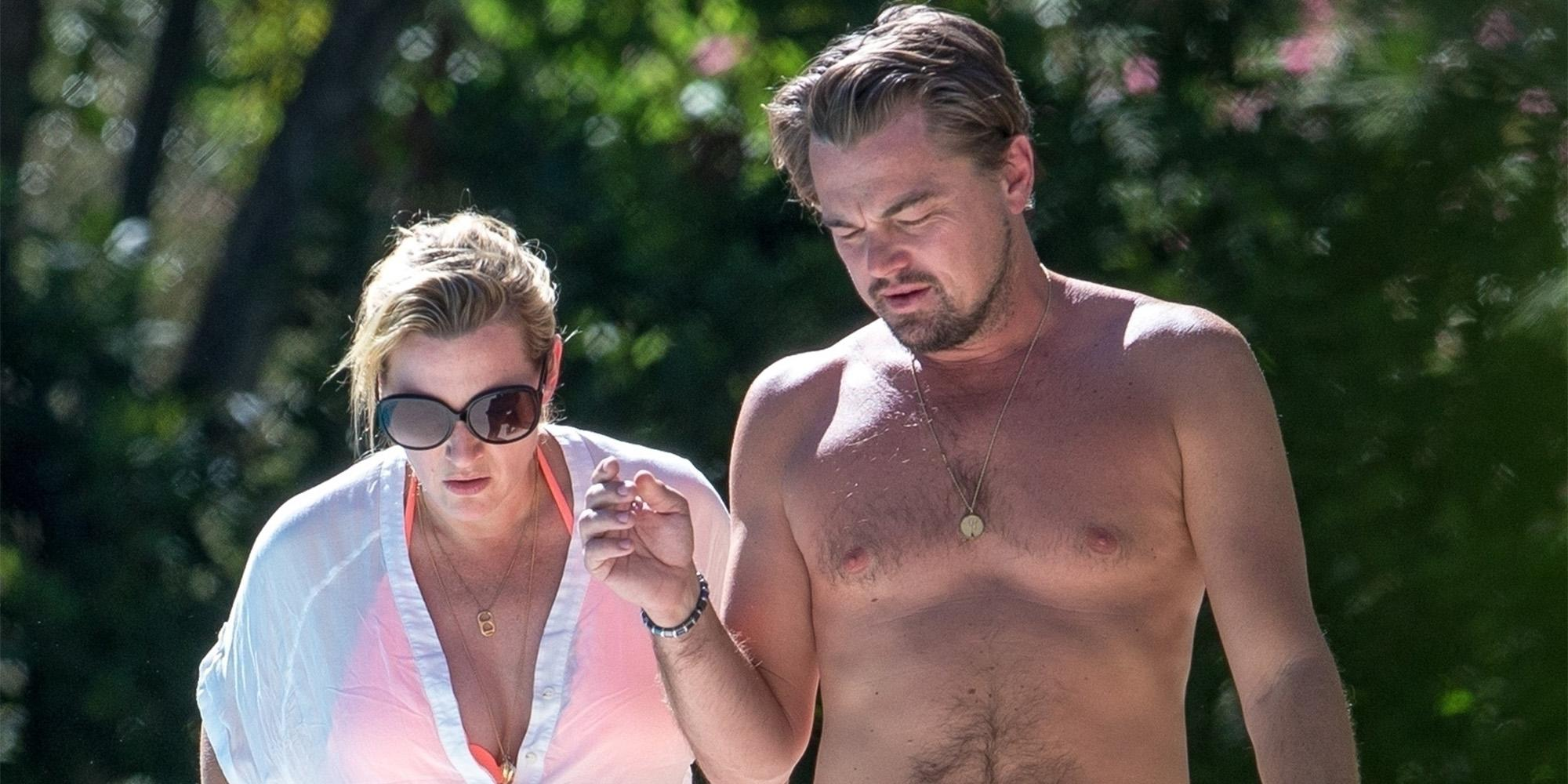 leonardo dicaprio and kate winslets pool date
