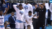 Rhode Island's bench celebrations were the best part of the Rams' OT win over Oklahoma