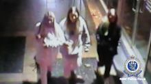 Police searching for three young women after Sydney school fire