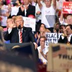 Trump lashes out at media in Arizona rally