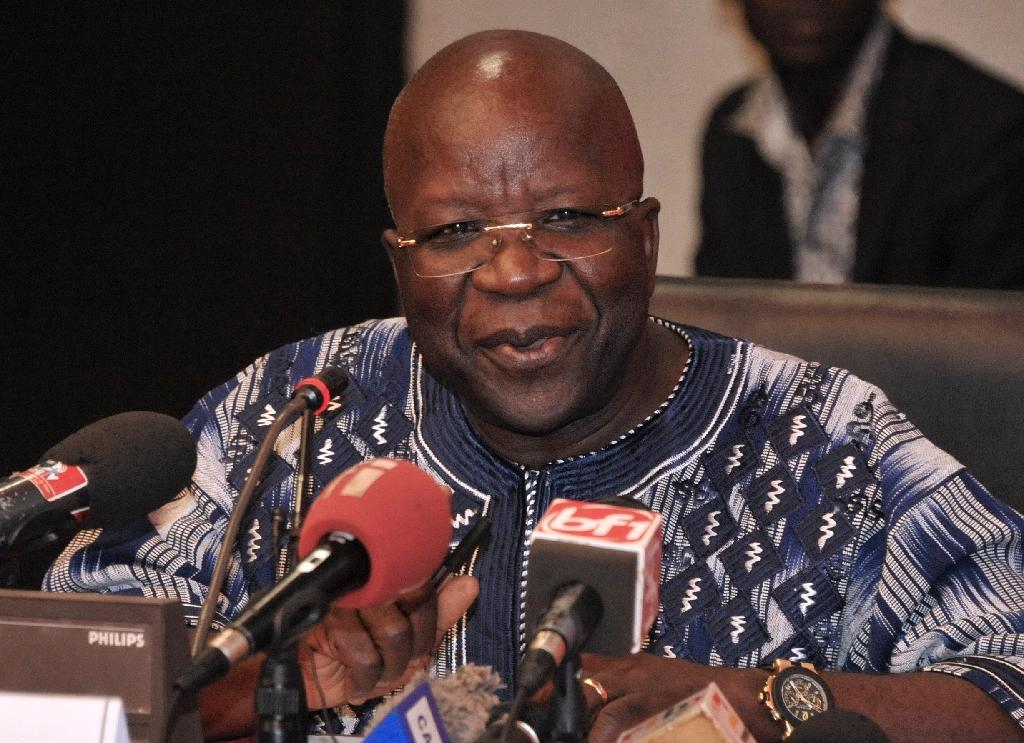 Burkina Faso's Interior Minister Simon Compaore says the government has thwarted a coup plot (AFP Photo/Ahmed Ouoba)