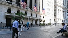US STOCKS-Wall Street up on hopes of Fed backing; FedEx jumps