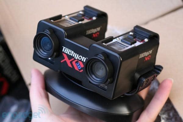 Tachyon XC 3D helmet cam hands-on