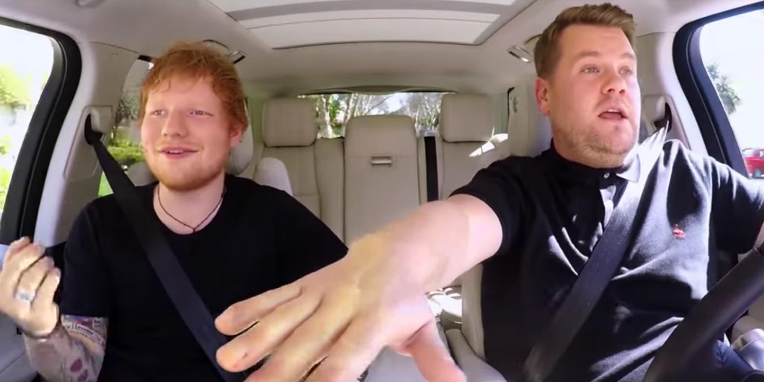 Carpool Karaoke: Its Ed Sheerans turn   Star 104.5 FM