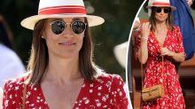 Kate and Pippa Middleton step out in flawless floaty frocks