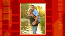 Picture of Wife Carrying Legless Marine Goes Viral