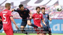 """30e j. - Bosz : """"Pas à notre meilleur niveau pour rivaliser avec le Bayern"""""""