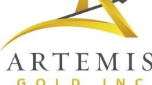 Artemis Closes Bought Deal Component of $171 Million Equity Financing, Including Full Exercise of Over-Allotment Option