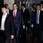 U.S.-China trade talks to resume next week, Trump hints at extension