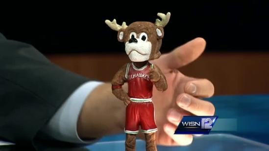 News anchor interviews bobblehead on live TV