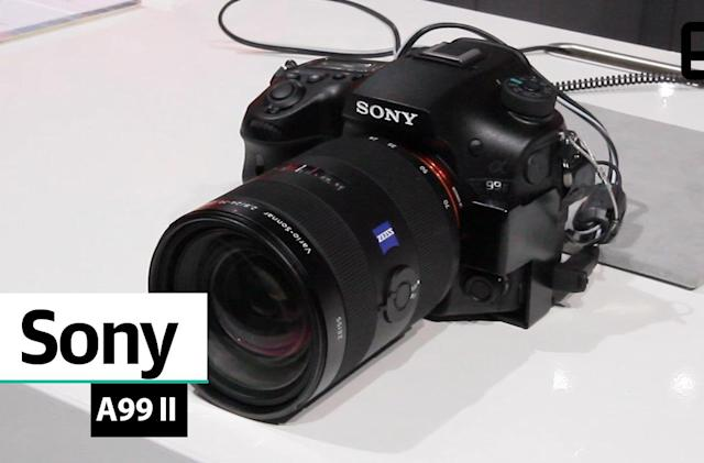 A first look at Sony's Alpha A99 II