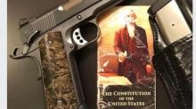 'What if I don't comply?' Indiana Republican lawmaker posts a photo of a .45-caliber handgun in response to GOP governor's mask order