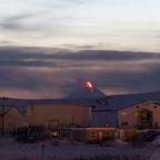 Alaska volcano spews thick ash cloud, triggering aviation warning