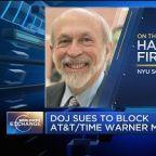 Implications of the DOJ's suit against ATT-Time Warner on...