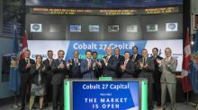 Cobalt 27 Capital Corp. Opens the Market