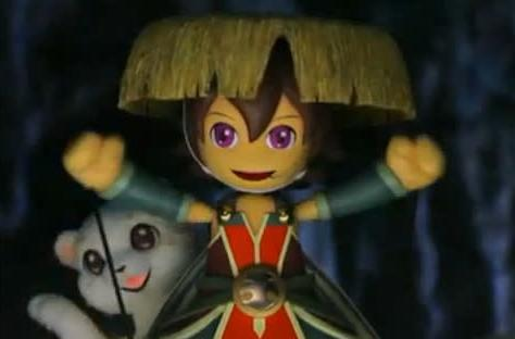 Puppets promote Shiren the Wanderer 4 in Japan