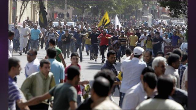 Thousands Of Muslim Brotherhood Protesters March In Cairo