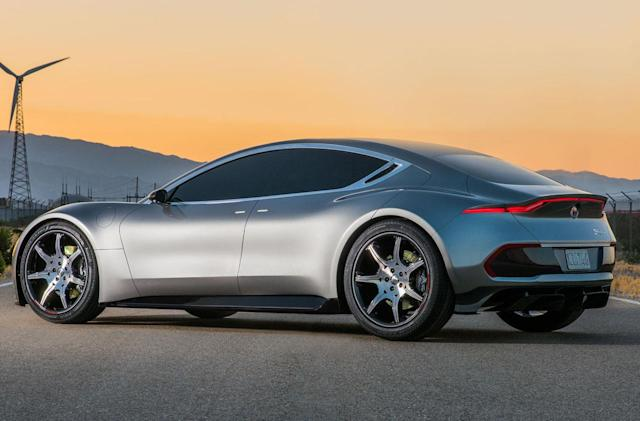 Fisker's luxury EV will debut in January at CES 2018