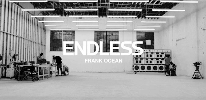 Frank Ocean's new visual album is live on Apple Music