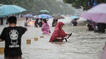 Chine : le bilan des inondations s'alourdit brutalement à 302 morts