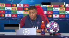 """Finale - Mbappé : """"Thomas Tuchel est un grand entraîneur, il réalise la meilleure saison de l'histoire du PSG"""""""